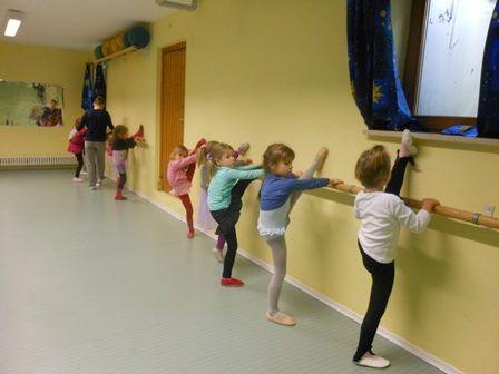 Foto: Blick ins Ballett-Training